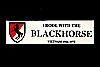 3 - Bumper Sticker, (I rode with the Blackhorse), w/full color insignia